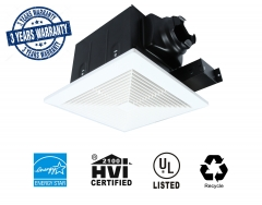 Ultra Quiet 70 CFM Ceiling Exhaust Bathroom Fan - 3 Years Warranty