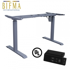Electric Standing Desk Frame Adjustable Height Desk Frame with Single Motor