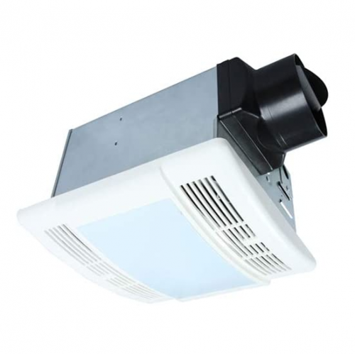 Ultra Quiet 90 CFM Ceiling Exhaust Bathroom Fan with LED Light - 3 Years Warranty