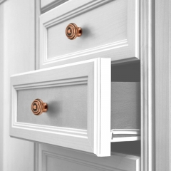 Copper Kitchen Cabinet Knobs 10 pack - 3 Years Warranty