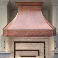 Handcrafted Copper Range Hood